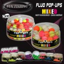 Pop up fluo mixed 12mm fun fishing